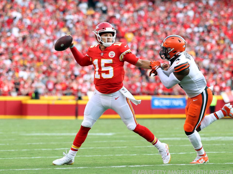 Chiefs-Quarterback Mahomes führte sein Team zum Sieg