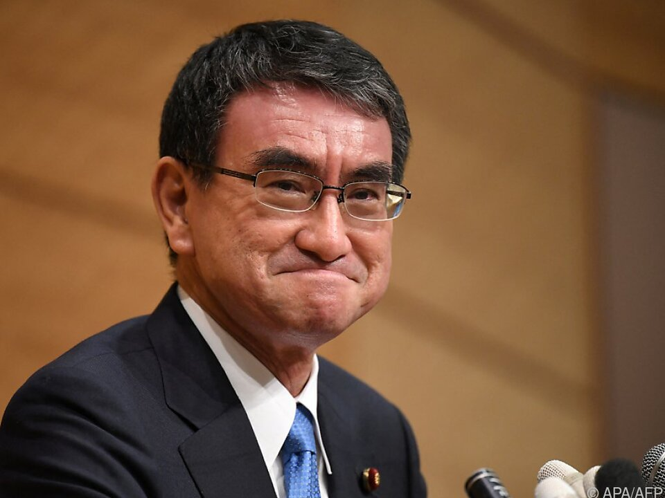 Corona-Minister Kono hat beste Aussichten auf japanisches Premieramt