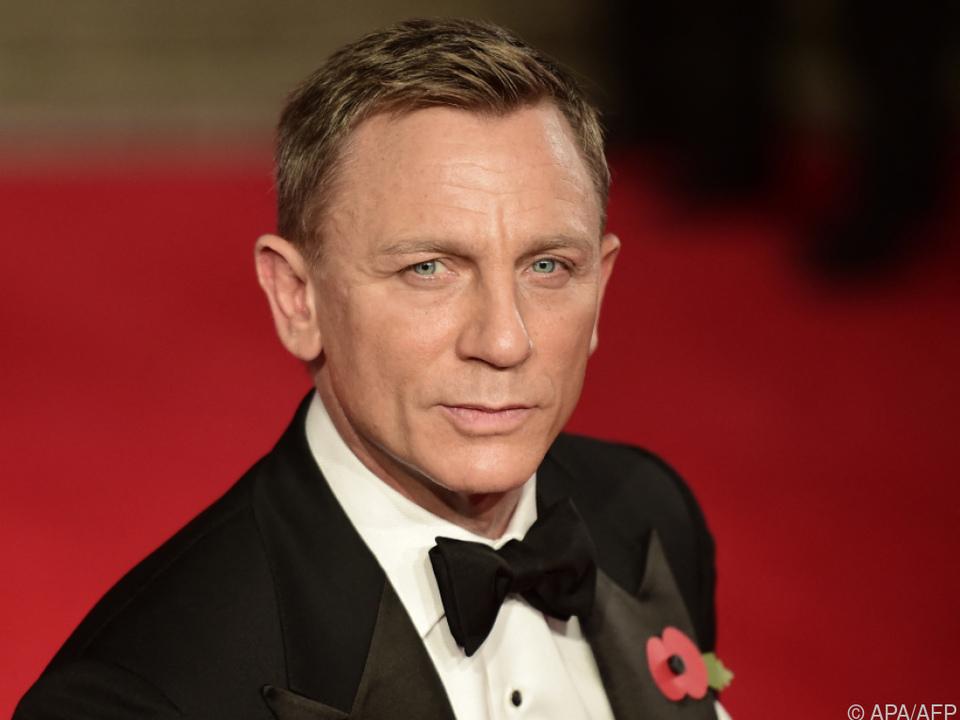 Daniel Craig gibt die Rolle von James Bond 007 nach fünf Filmen ab