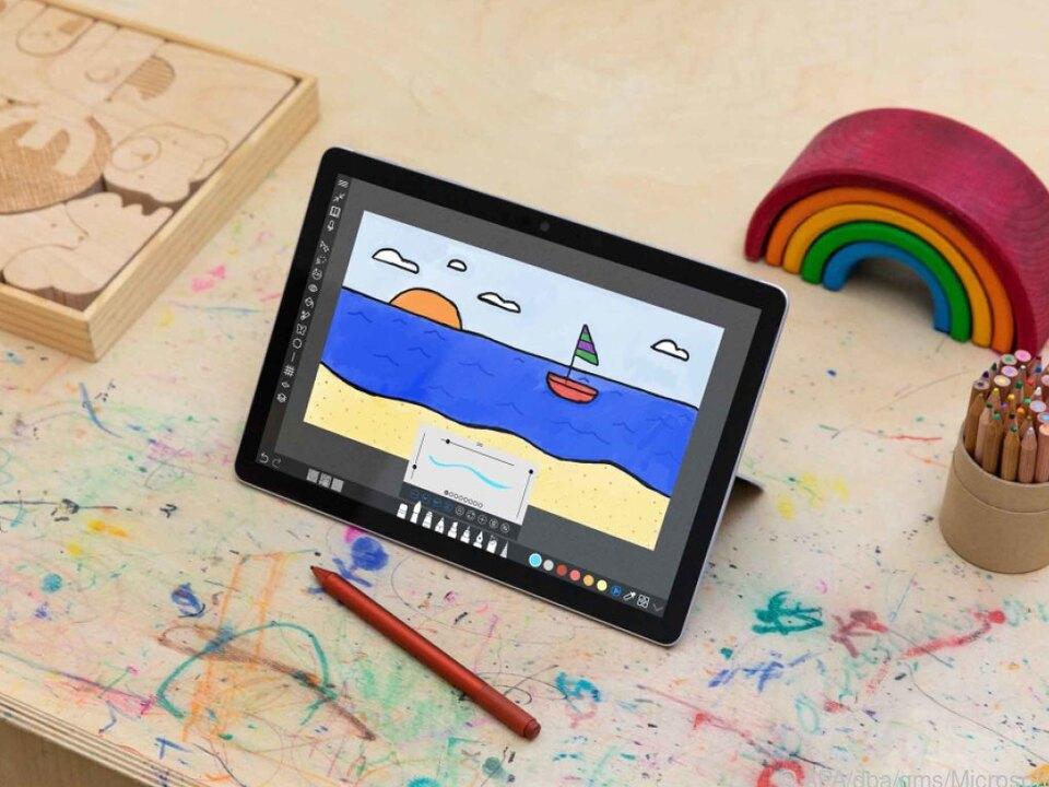 Microsoft sieht das Surface Go 3 als Alltagsgerät zum Beispiel in Schulen