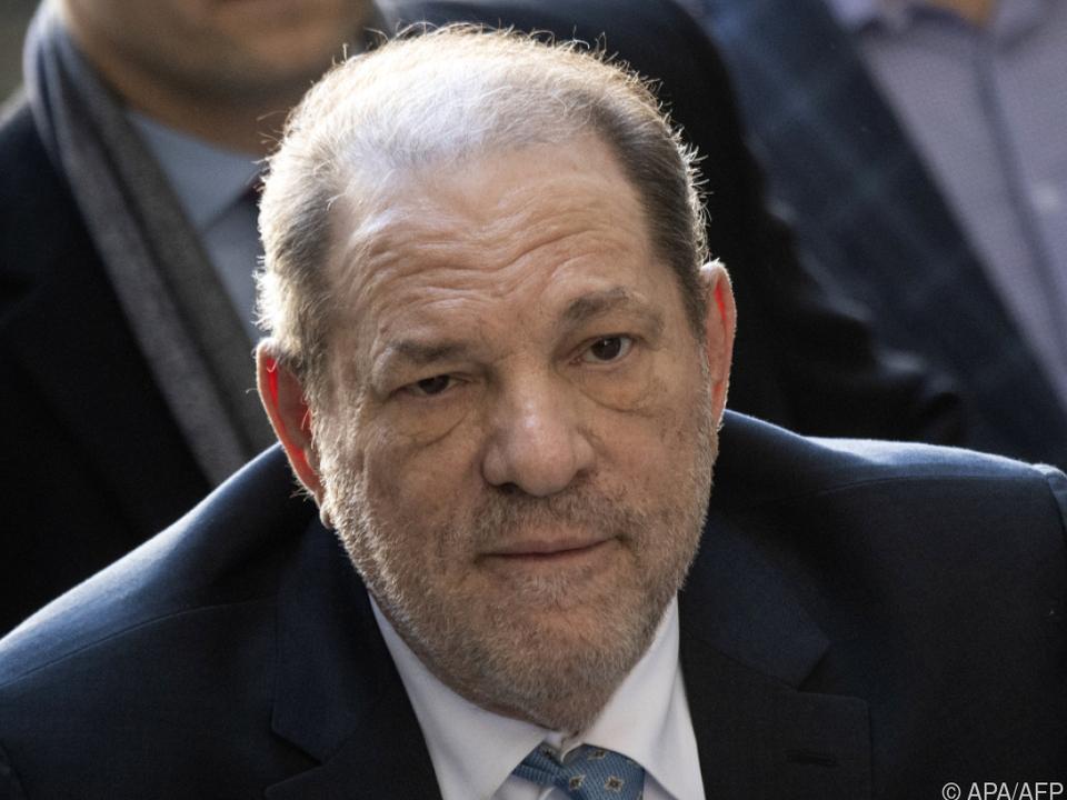 Der frühere Filmproduzent Harvey Weinstein