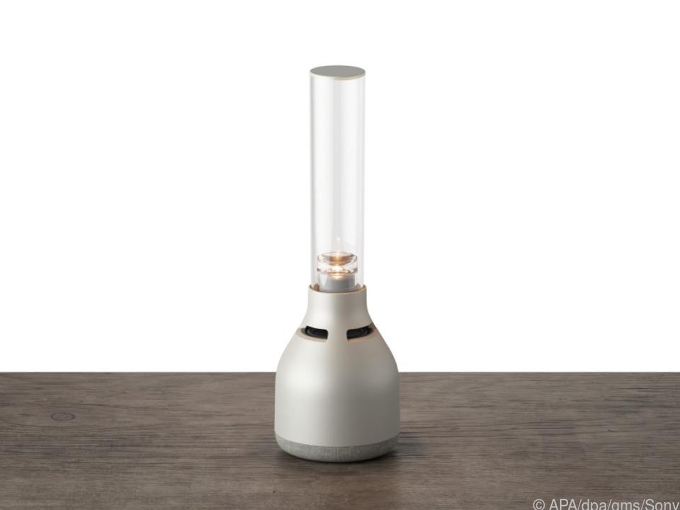 Gelungenes Design: Sonys LSPX-S3 erinnert an eine alte Petroleumlampe