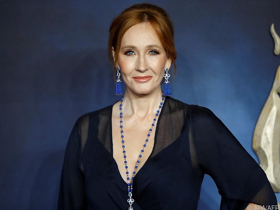 Die Bestsellerautorin J.K. Rowling