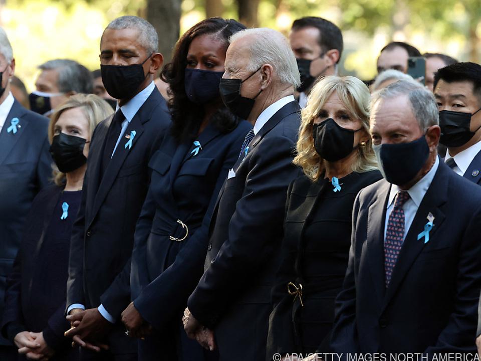 Die Clintons, Obamas, Bidens und New Yorks Bürgermeister Bloomberg
