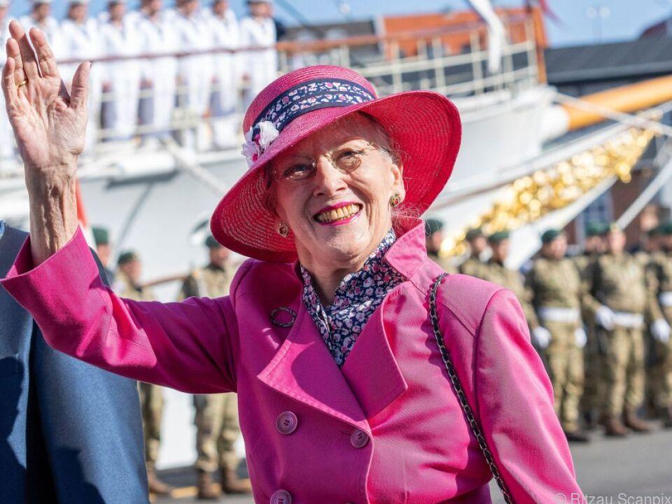 Die dänische Königin Margrethe II. lebt ihre Designliebe beim Film aus