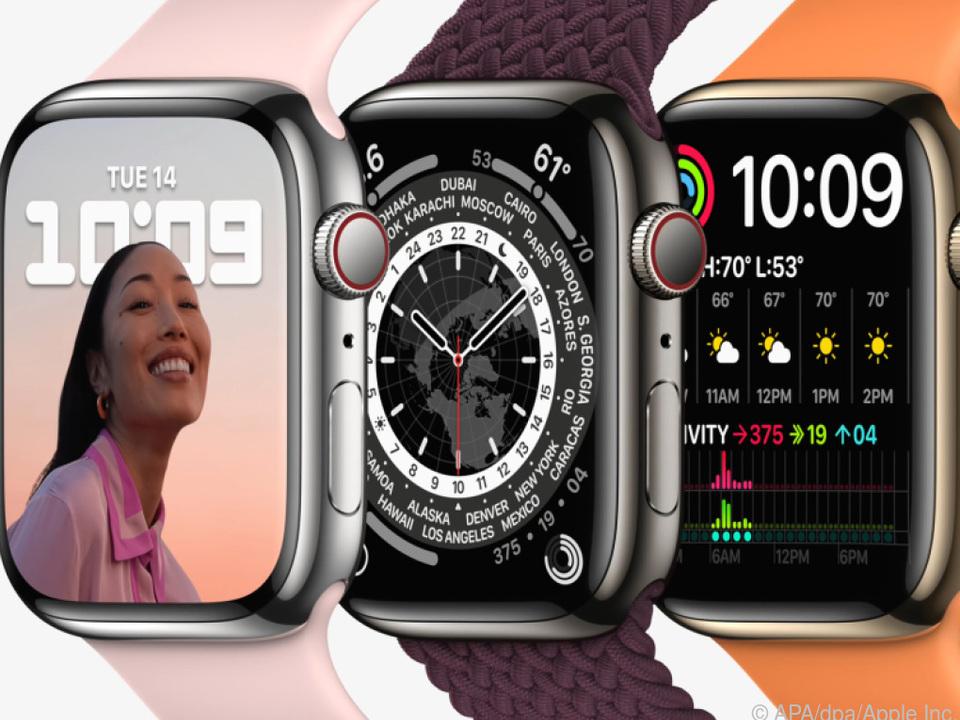 Wann die neue Apple Watch 7 in den Verkauf kommt, ist noch unklar