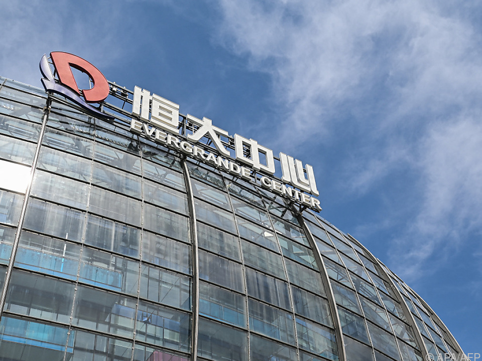Die Evergrande-Zentrale in Shanghai