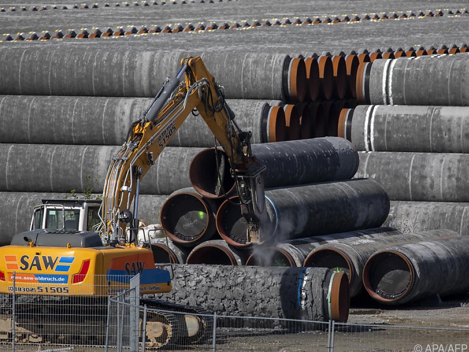 Die Gaspipeline Nord Stream ist laut Betreiberfirma fertiggestellt