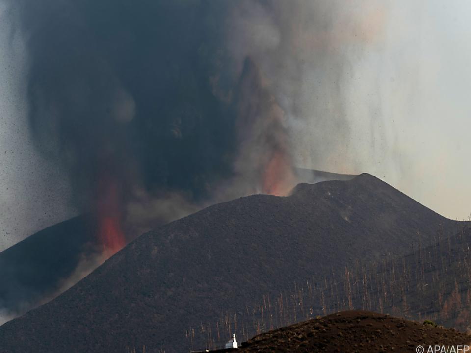 Die Lava auf La Palma nähert sich dem Meer