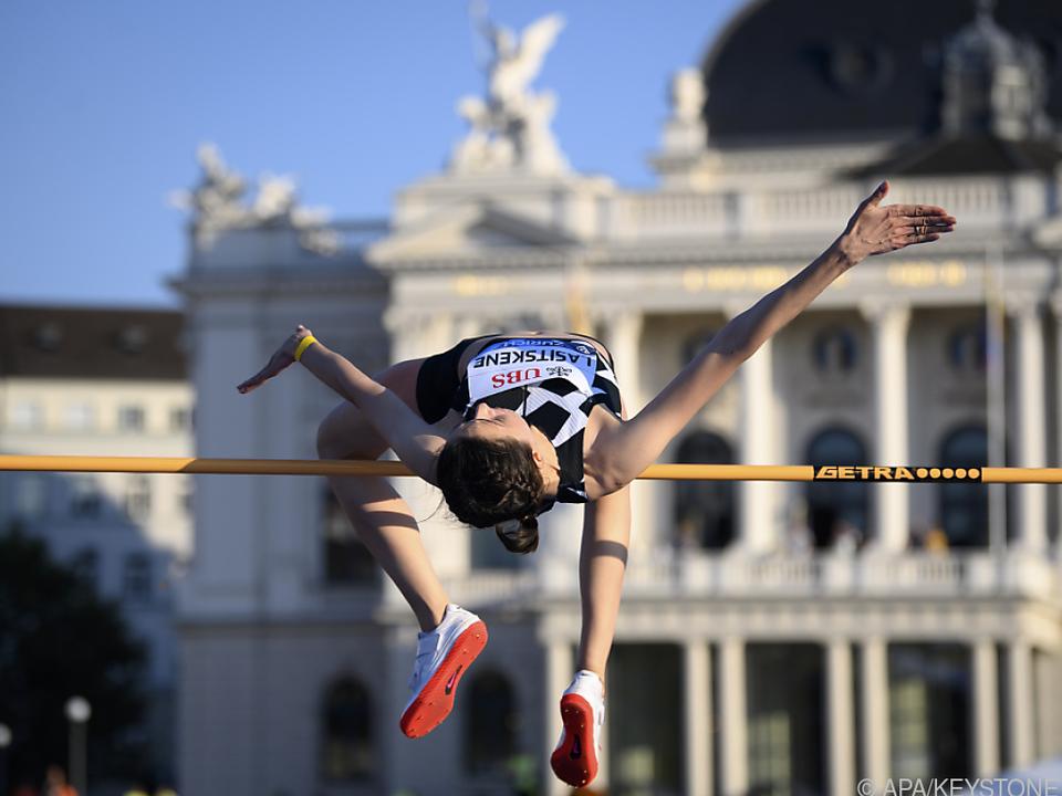 Die Leichtathletik-Weltelite mitten in den Züricher Innenstadt