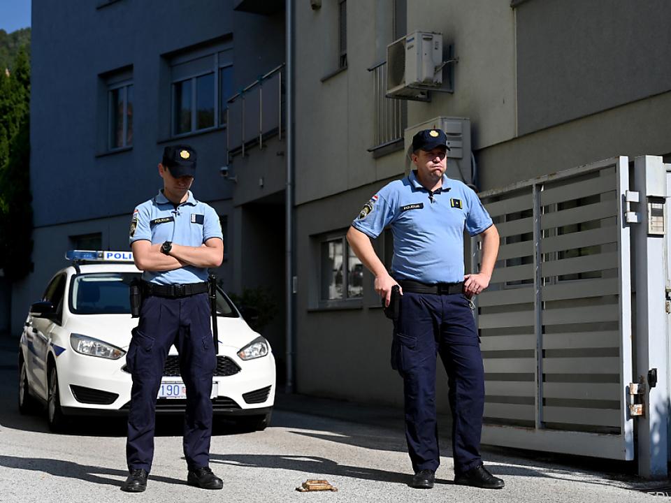 Die Polizei fand die Kinder leblos in der Wohnung des Vaters in Zagreb
