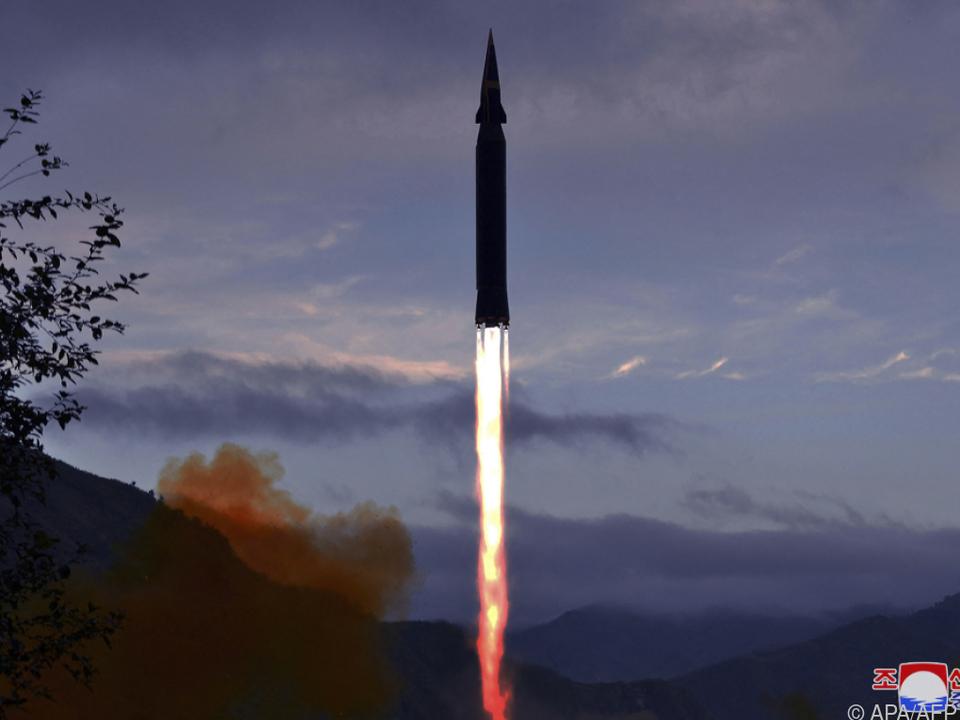 Die Rakete wurde aus der Provinz Jagang abgefeuert