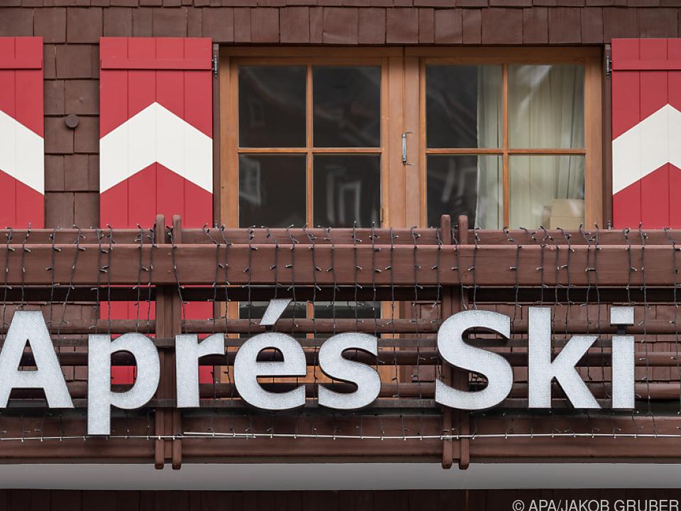 Ein Apres-Ski-Lokal in Ischgl