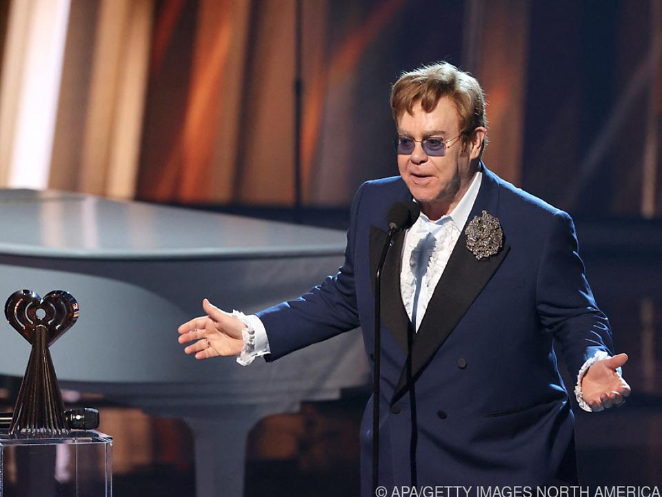 Elton John war im Lockdown produktiv