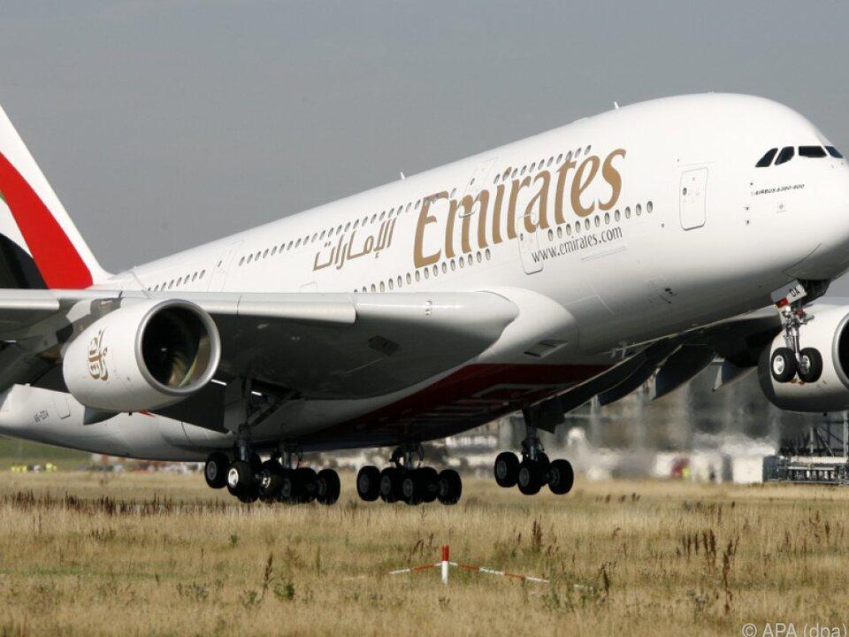 Emirates bekommt die letzten A380-Jets