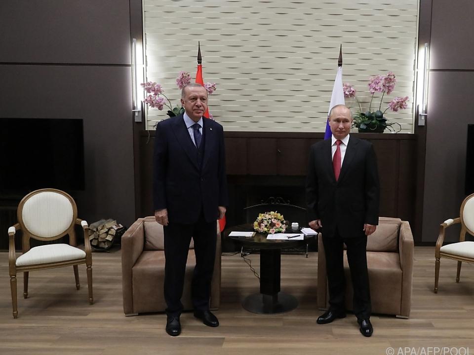 Erdogan und Putin