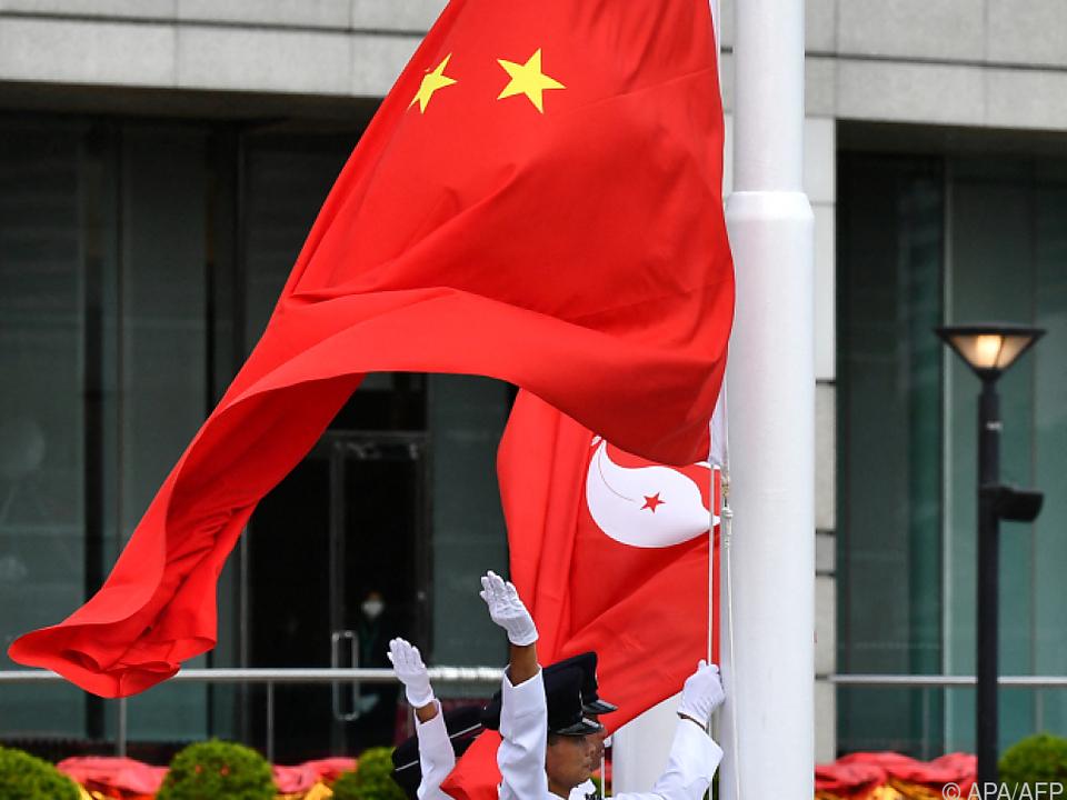 EU besorgt über Chinas Machtstreben