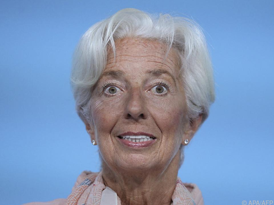 EZB-Chefin Christine Lagarde will am Nullzins nicht rütteln