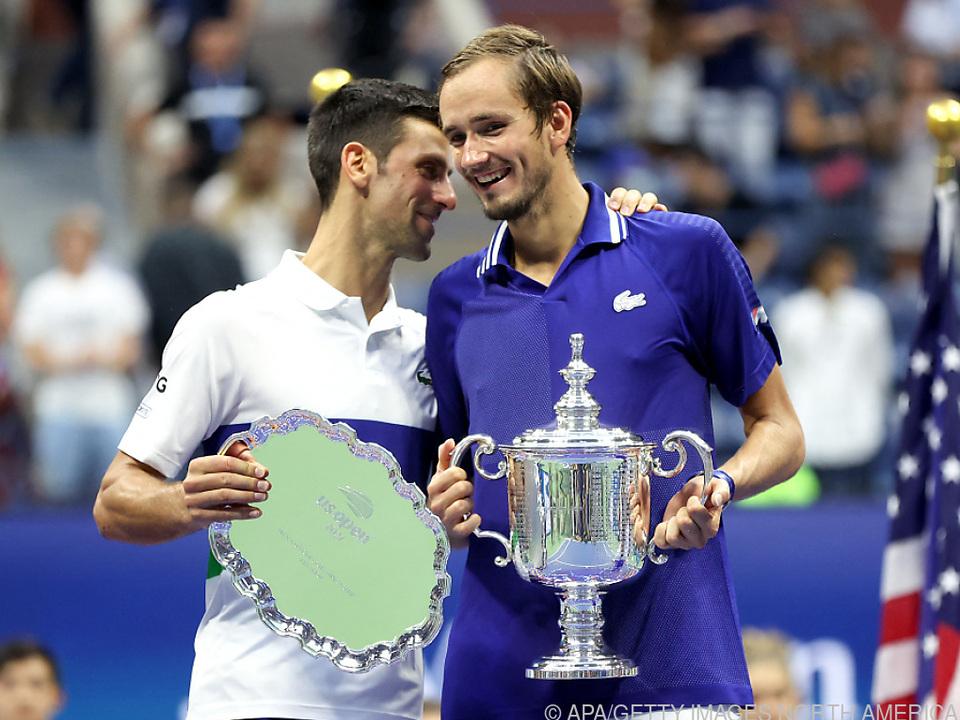 Fairer Verlierer Djokovic gratulierte Medwedew