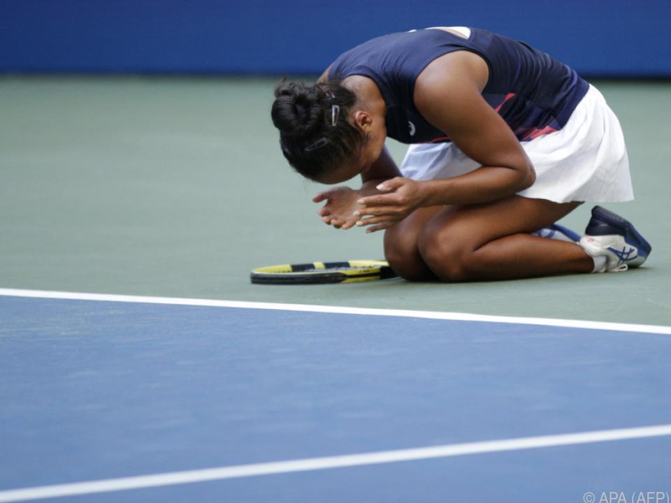 Fernandez konnte den Einzug ins US-Open-Halbfinale kaum fassen