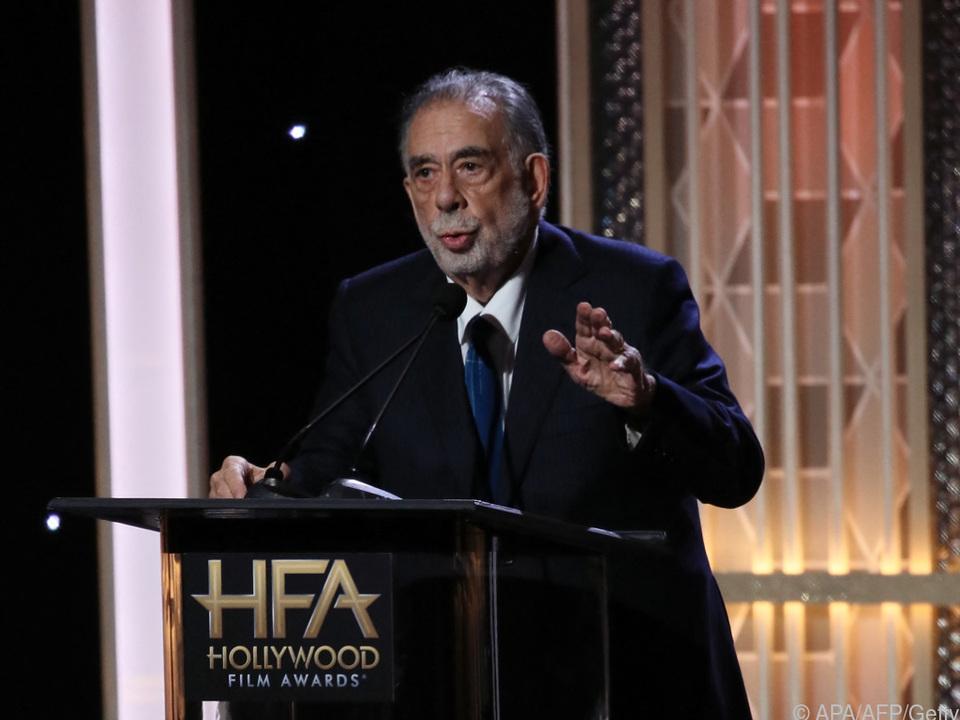 Francis Ford Coppola nimmt einen Drehstart im Herbst 2022 ins Visier