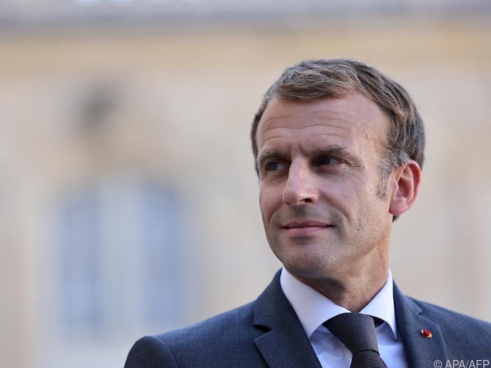 Frankreichs Präsident wartet auf Johnsons Vorschläge