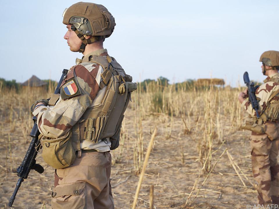 Französische Soldaten im Kampf gegen extremistische Gruppen