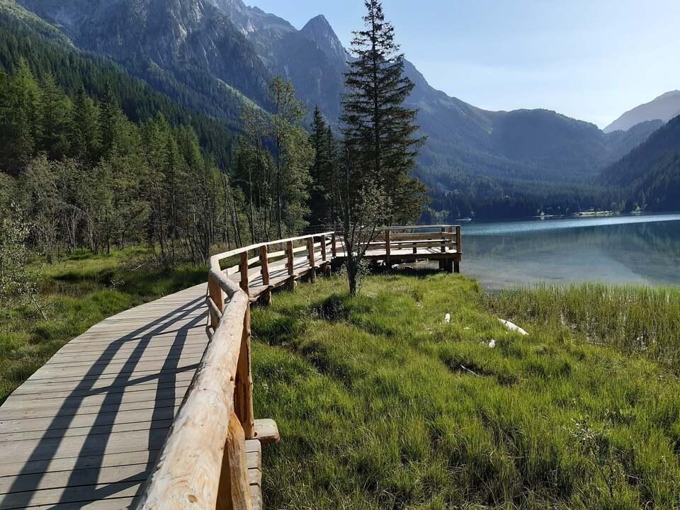 Fußgängersteg_Antholzer See_Amt für Natur