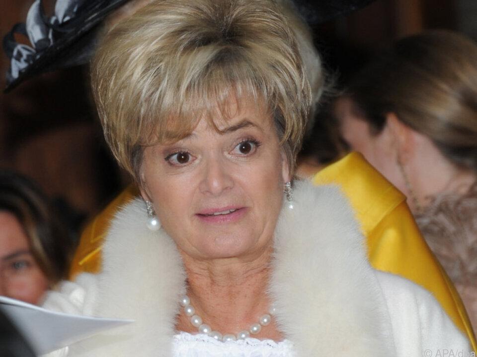 Gloria von Thurn und Taxis\' (Archivbild) Mutter wurde 91 Jahre alt