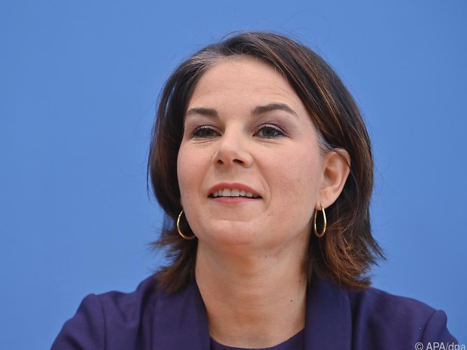 Grünen-Chefin Baerbock verkündete Gesprächspläne