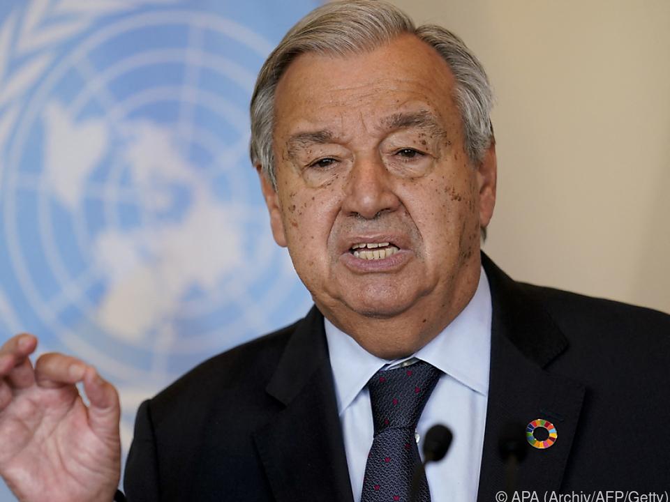 Guterres verkündete Einigung der fünf Weltmächte