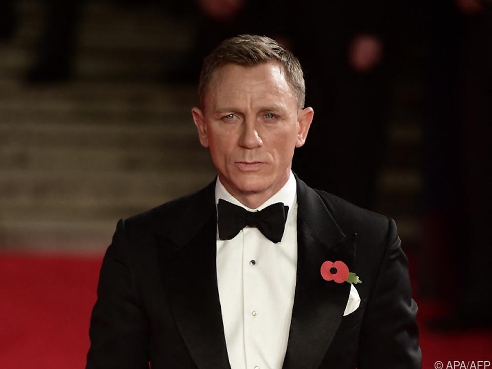 Hätte eigentlich gut lachen: Daniel Craig