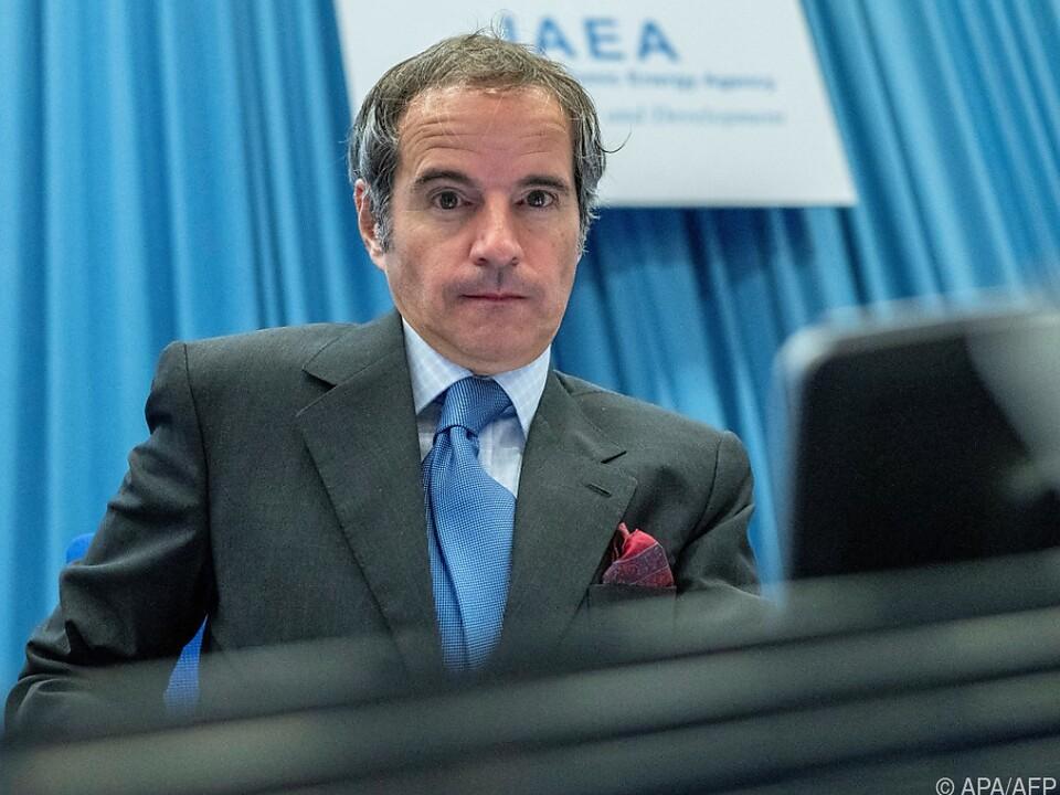 IAEA-Chef Grossi erzielte Einigung mit Iran