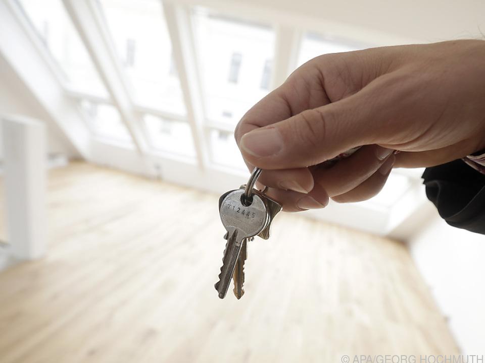 In Wien wohnt nur rund ein Fünftel im Eigenheim
