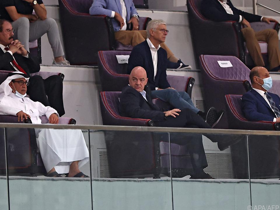 Infantino kam der Club-WM-Gastgeber abhanden
