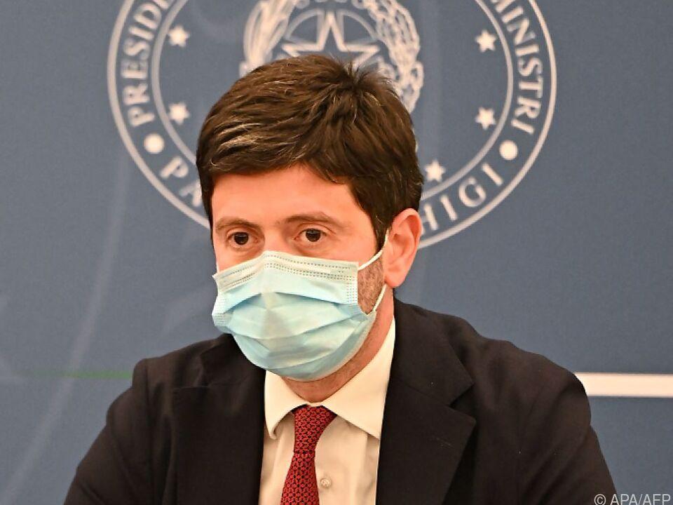 Italiens Gesundheitsminister verkündet Unterzeichnung von Pakt von Rom