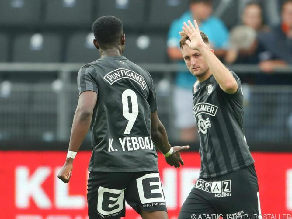 Jantscher und Yeboah sollen PSV-Abwehr beschäftigen