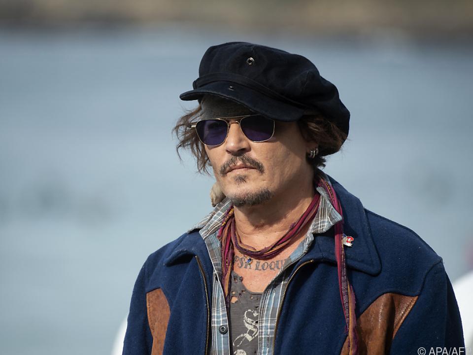 Johnny Depp in San Sebastian