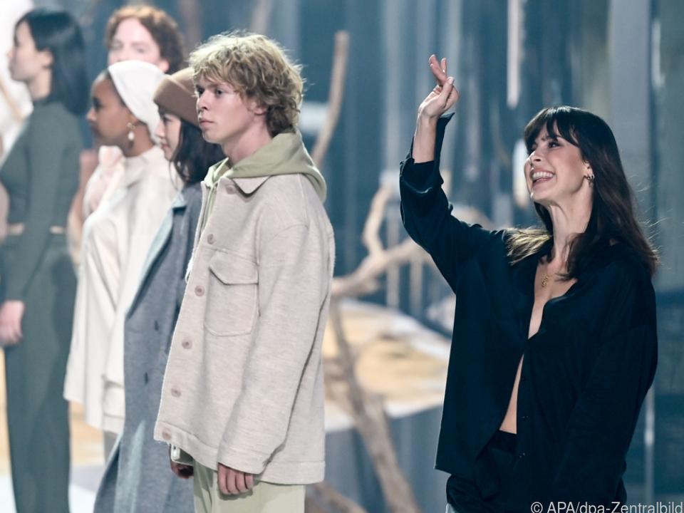 Lena Meyer-Landrut winkte ins Publikum