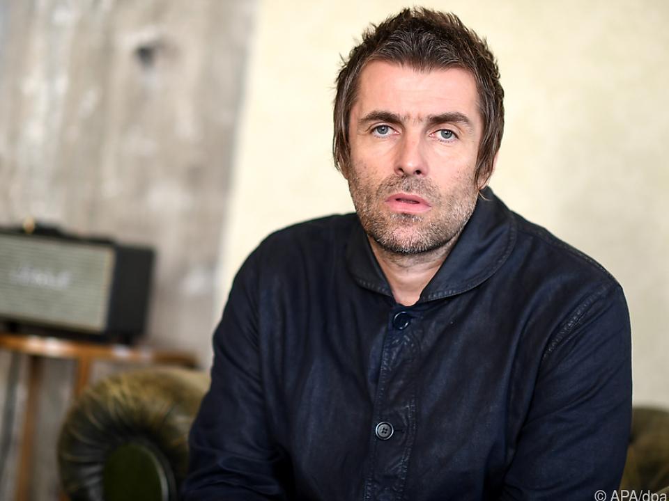 Liam Gallagher verletzte sich an der Nase