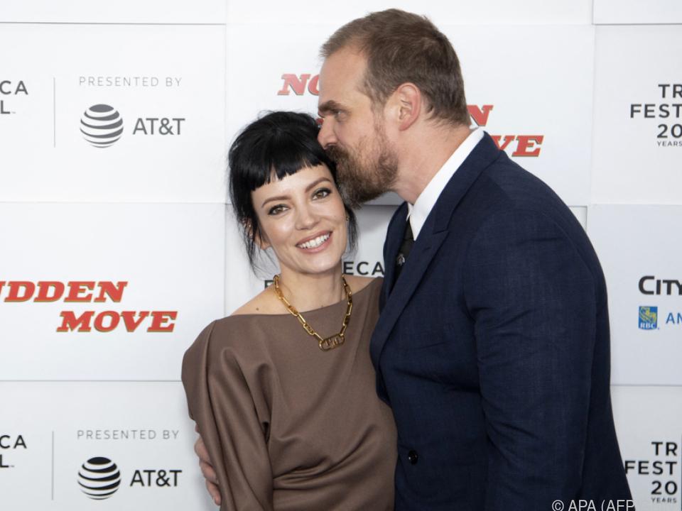 Lily Allen und David Harbour hatten in Las Vegas geheiratet