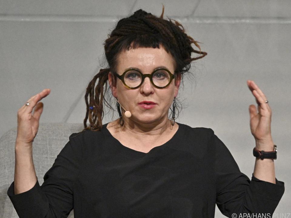 Literaturnobelpreisträgerin Olga Tokarczuk zu Gast in Wien