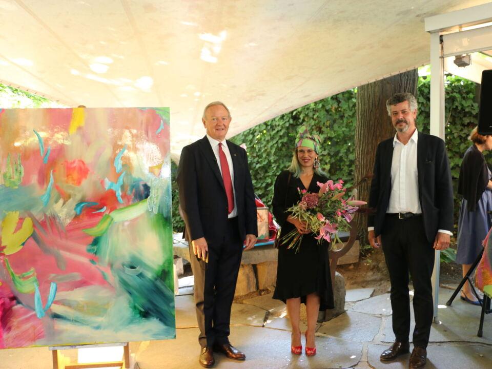 Manfred Pinzger, Elisa Grezzani, Alexander Zoeggeler