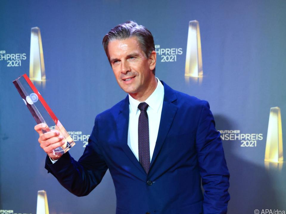 Markus Lanz gewann Fernsehpreis in der Kategorie \