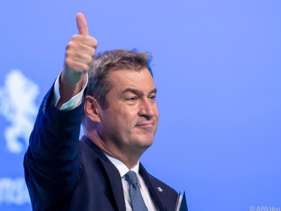 Markus Söder auf dem CSU-Parteitag