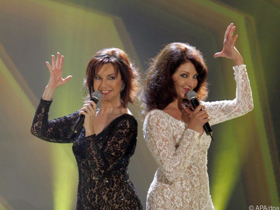 Mayte Mateos und Maria Mendiola (re) von Baccara