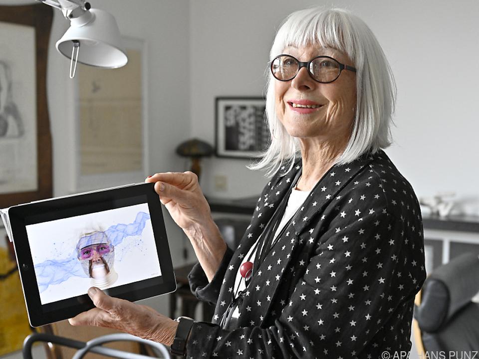 Medien- und Konzeptkünstlerin Margot Pilz feiert ihren 85. Geburtstag