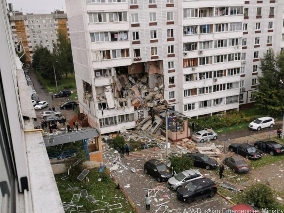 Mehr als 170 Menschen in Noginsk in Sicherheit gebracht