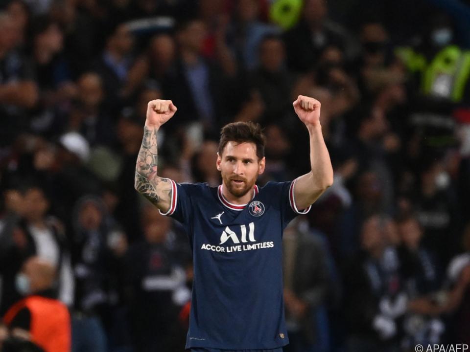 Messi jubelte erstmals im PSG-Dress