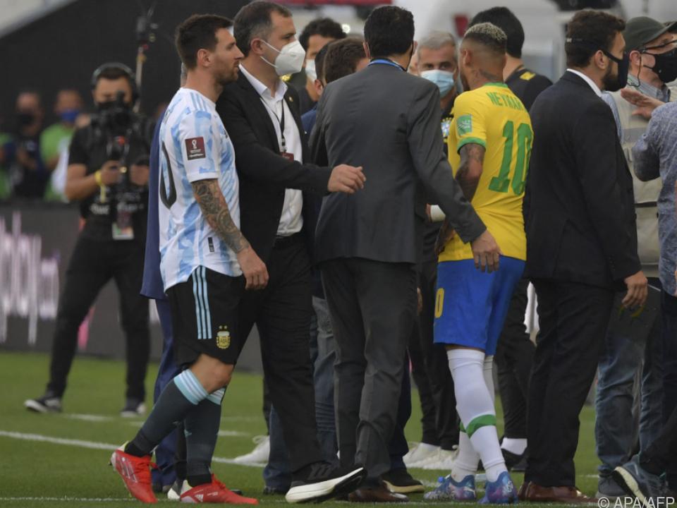 Messi und Neymar konnten ihr Können nicht zeigen